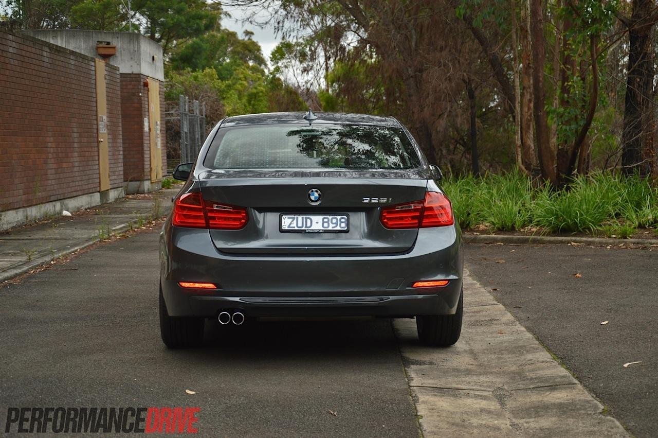 2014 BMW 328i Sport Line Rear Bumper