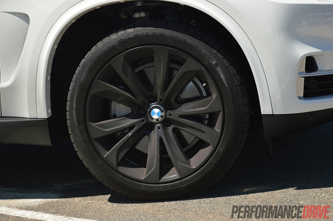 2014 Bmw X5 Xdrive50i 20in Black Wheels