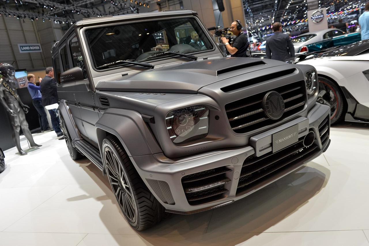2014 geneva motor show mansory mercedes benz g class for Mercedes benz g class engine