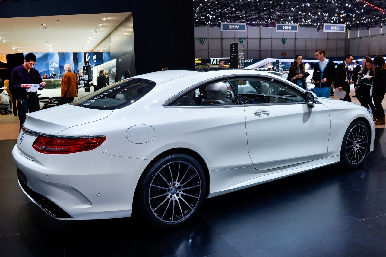 2014 geneva motor show mercedes benz s class coupe rear. Cars Review. Best American Auto & Cars Review