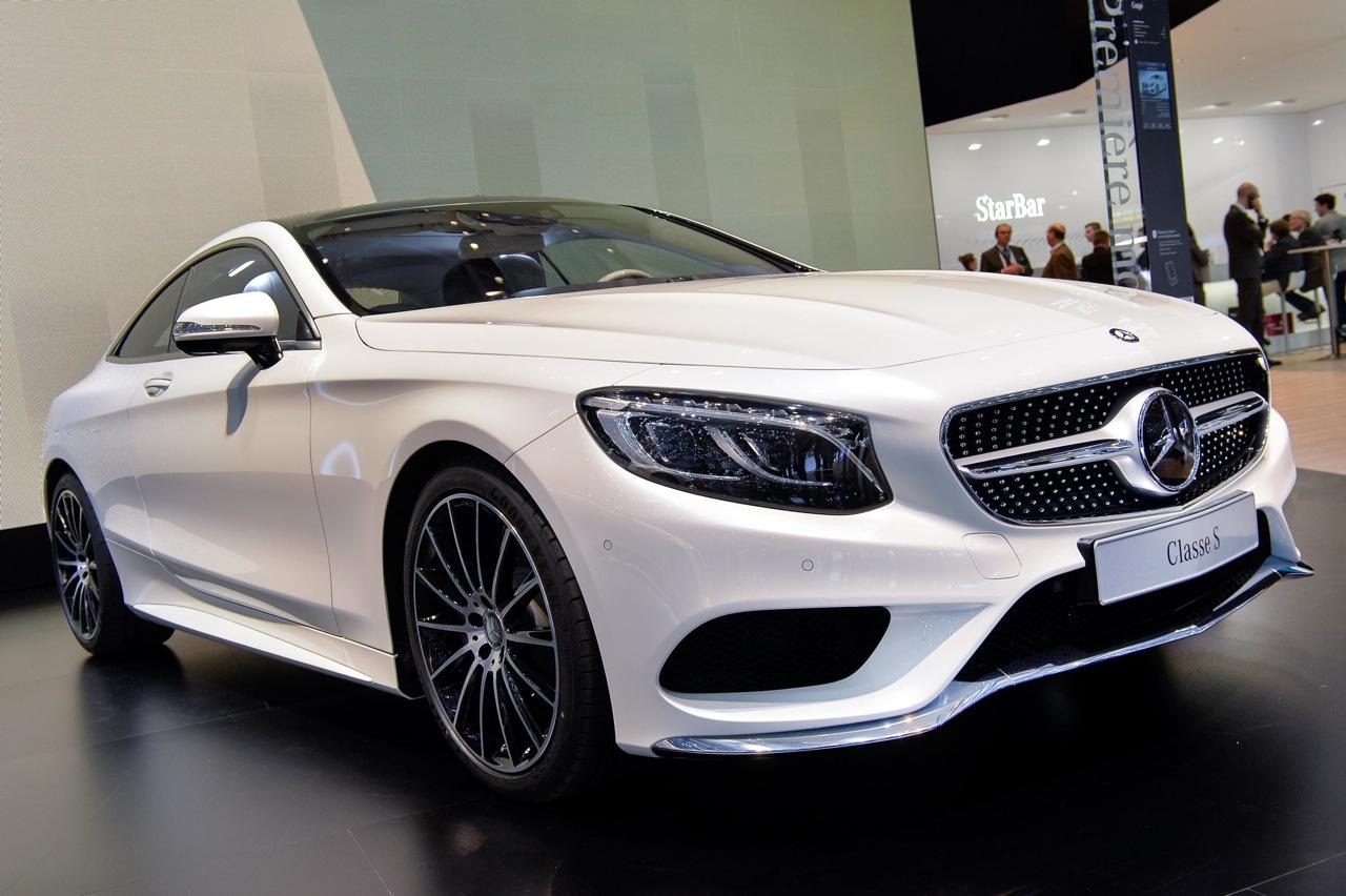 2014 geneva motor show mercedes benz s class coupe for Mercedes benz s class coupe 2014