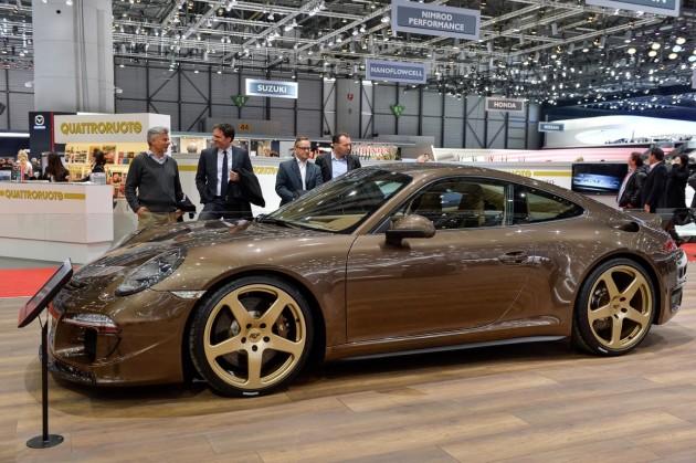 2014 Geneva Motor Show-Ruf RT 35s-brown