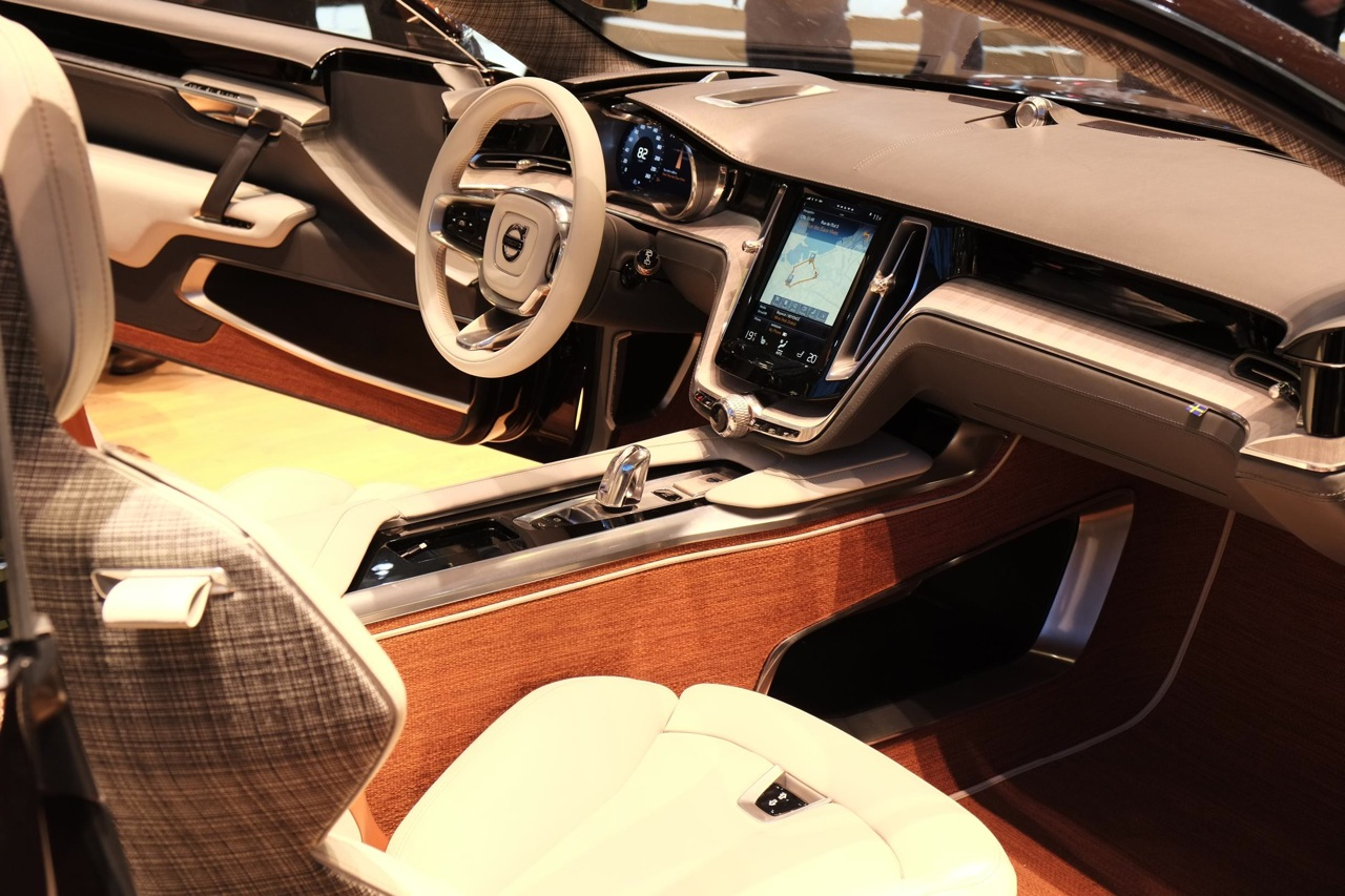 2014 geneva motor show volvo concept estate interior. Black Bedroom Furniture Sets. Home Design Ideas