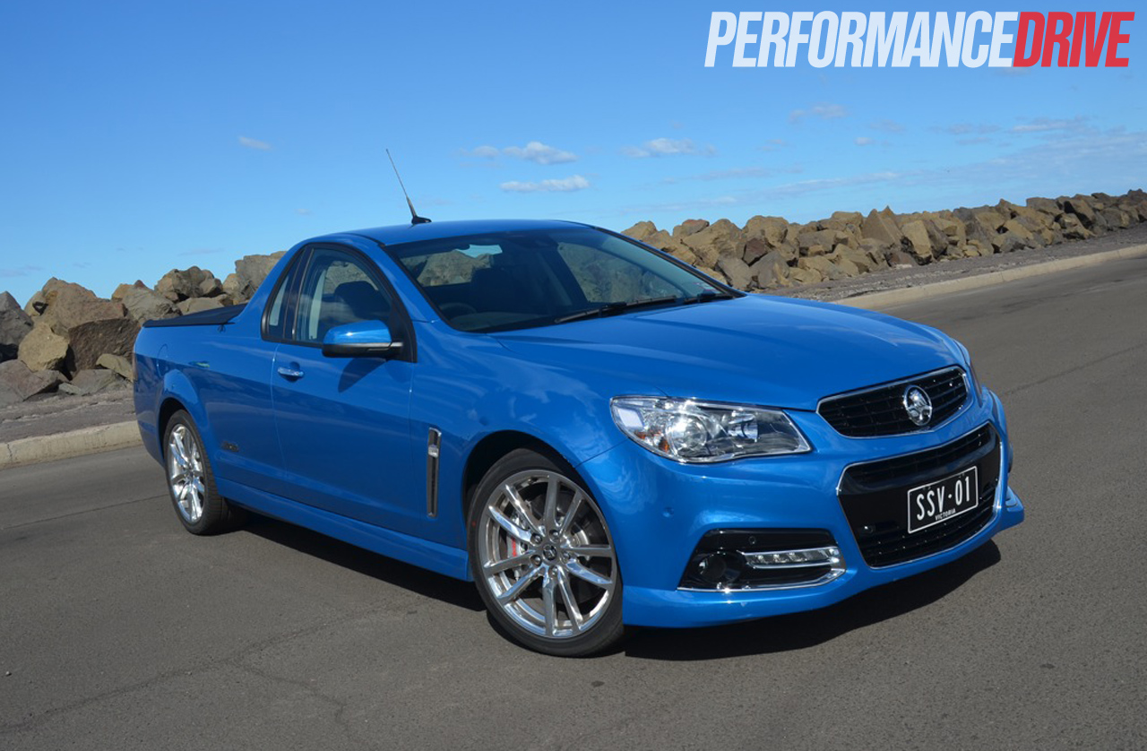 2014 Holden Vf Commodore Ss V Redline Ute Review Video