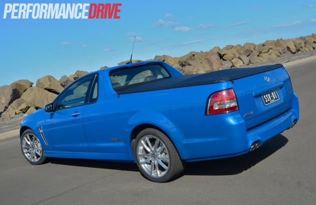 2014 Holden VF Commodore SS V Redline Ute rear exterior