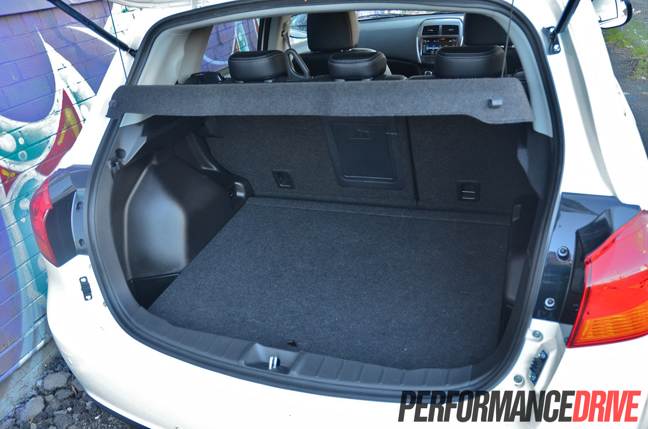Toyota Highlander Cargo Space >> 2014 Mitsubishi ASX Aspire AWD DiD boot space