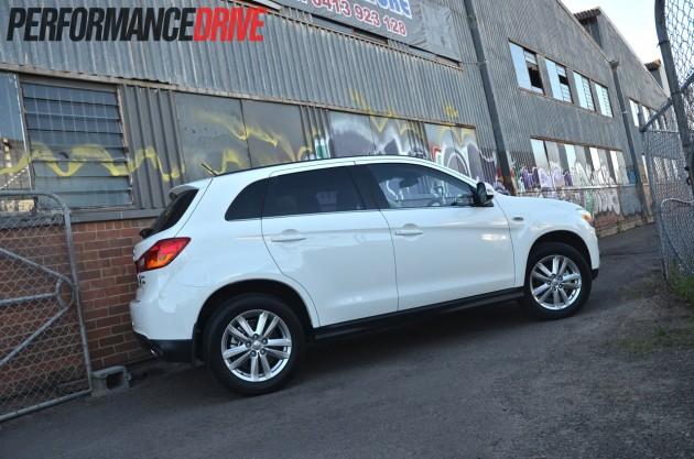 2014 Mitsubishi ASX Aspire AWD DiD rear exterior