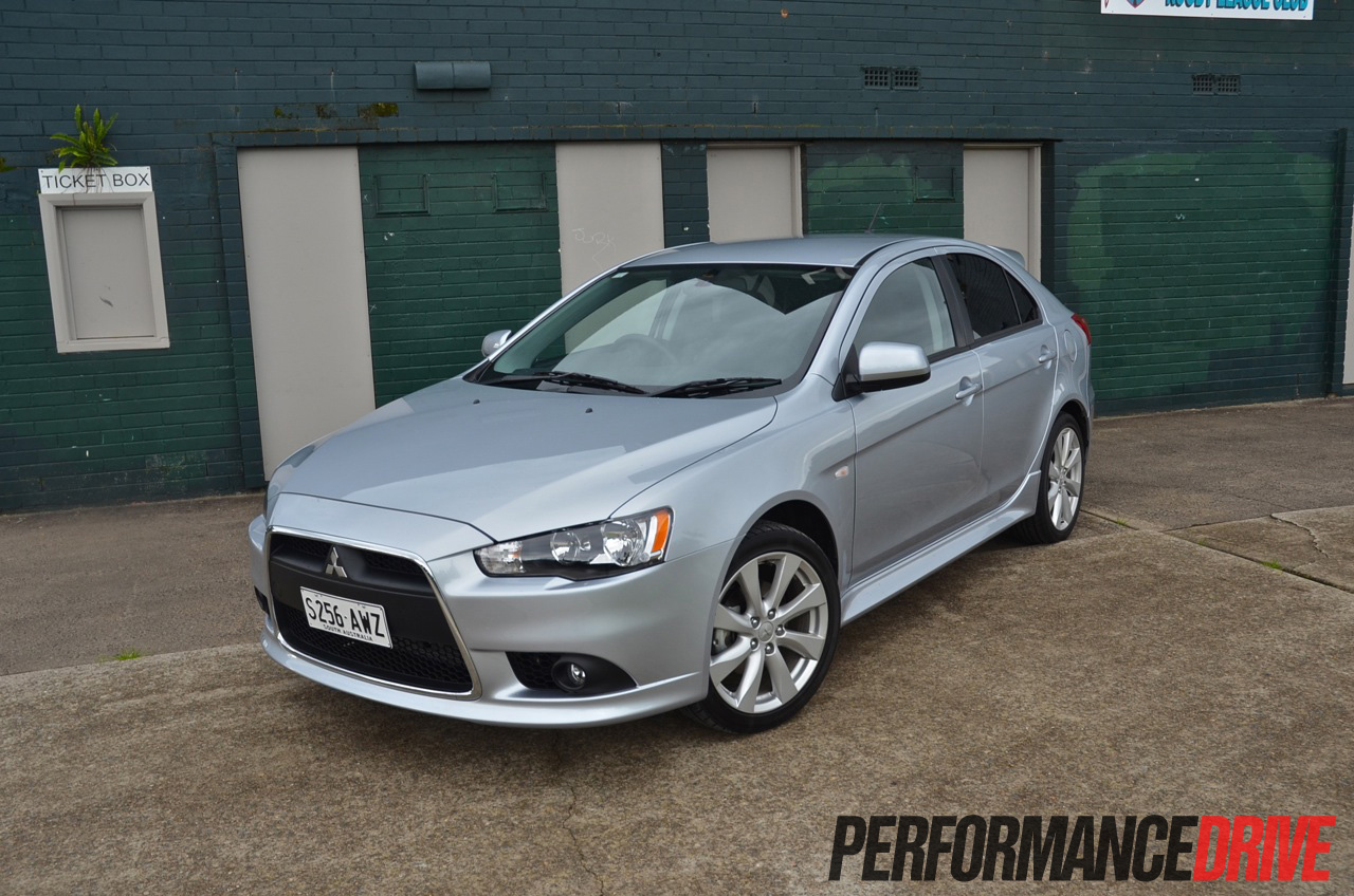 2014 Mitsubishi Lancer VRX review