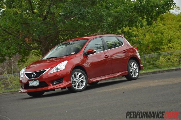 2014 Nissan Pulsar SSS Cayenne Red