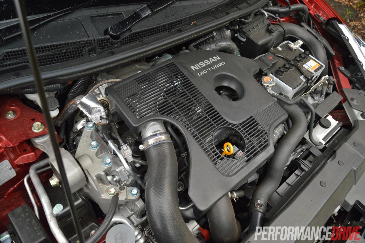2014 Nissan Pulsar SSS turbo engine