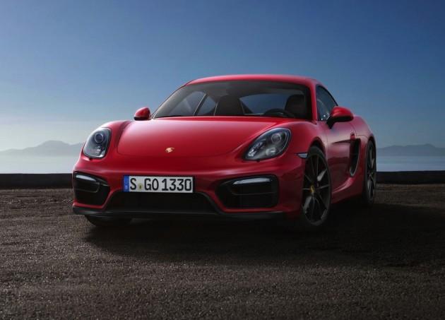 2014 Porsche Cayman GTS-front