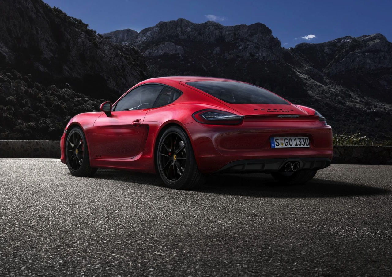 porsche cayman gts revealed new performance benchmark. Black Bedroom Furniture Sets. Home Design Ideas