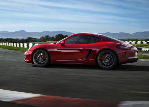 2014 Porsche Cayman GTS-red