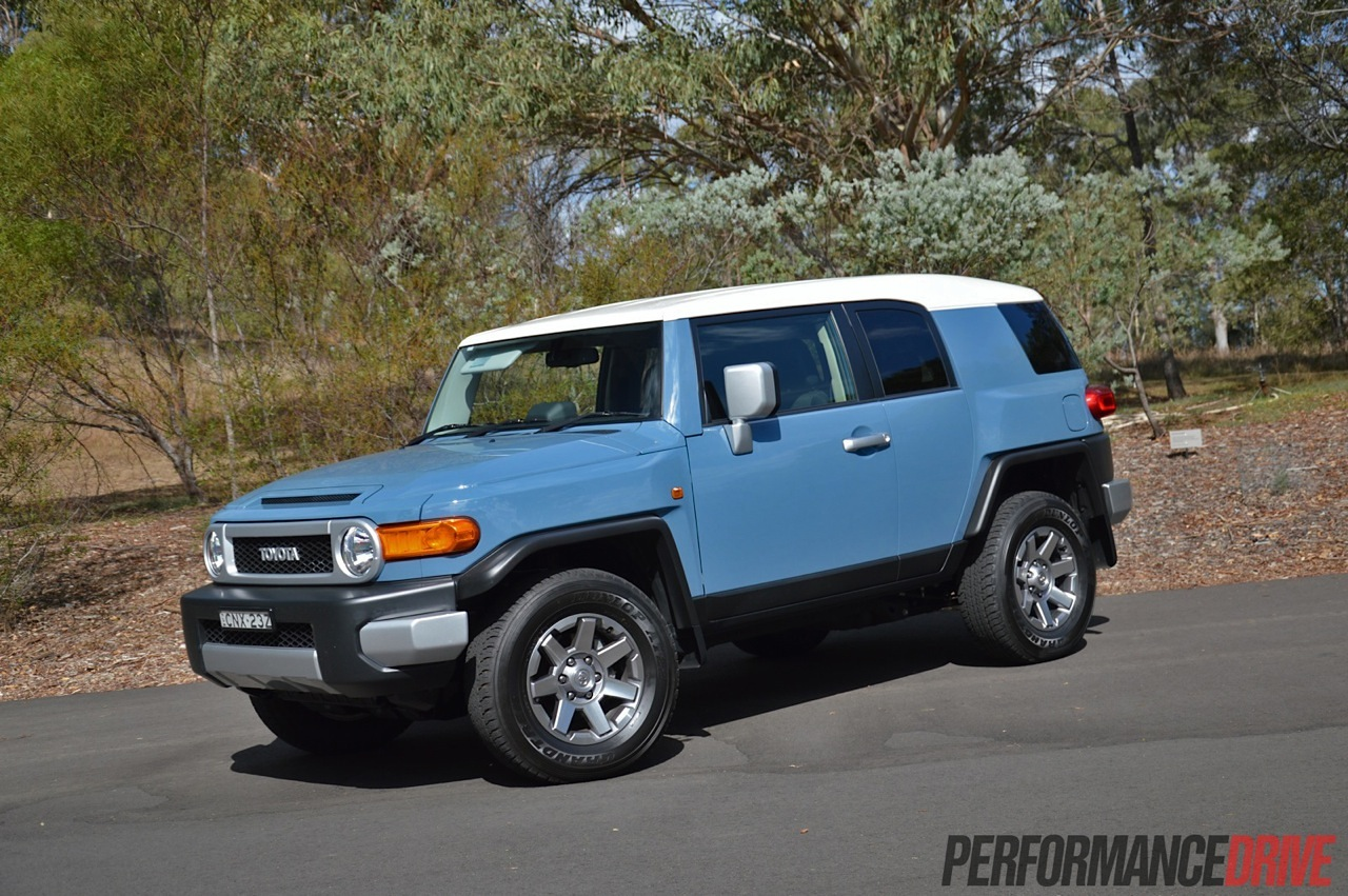 2014 Toyota FJ Cruiser review video  PerformanceDrive