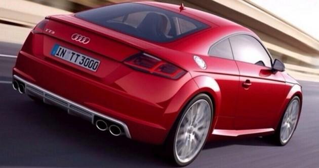 2015 Audi TT S-rear