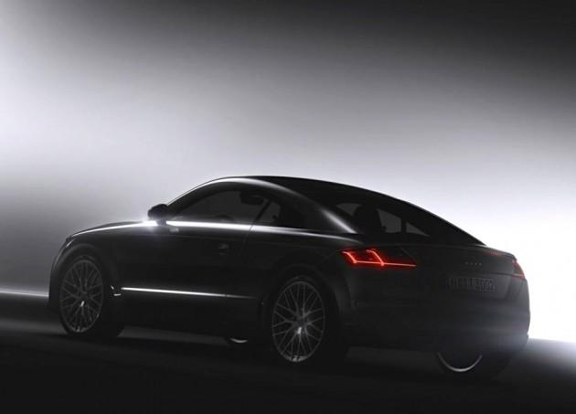 2015 Audi TT teaser
