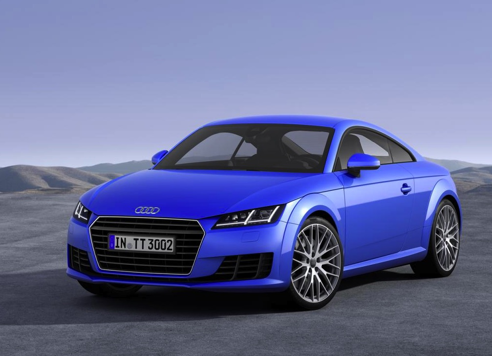 2015 audi tt revealed lighter more powerful performancedrive. Black Bedroom Furniture Sets. Home Design Ideas