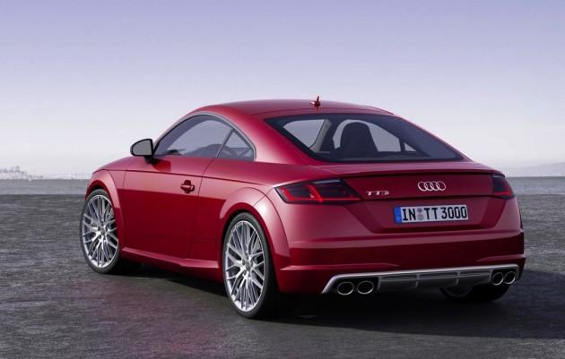 2015 Audi TTS-rear