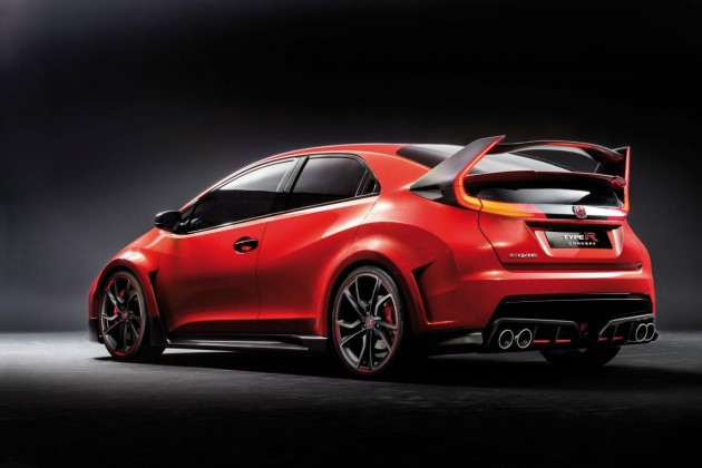 2015 Honda Civic Type R concept-rear