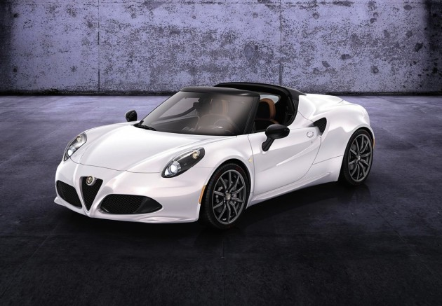 Alfa Romeo 4C Spider preview-front