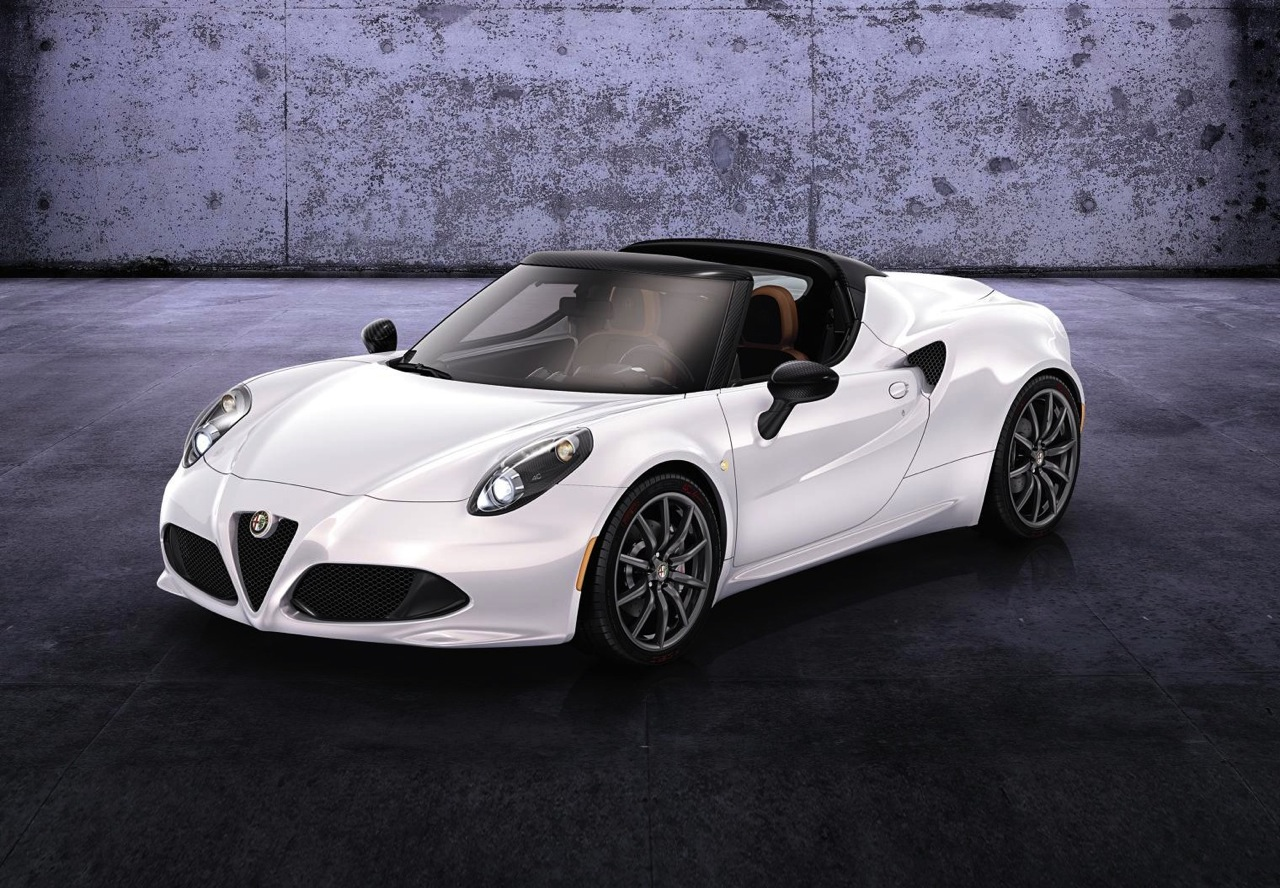 alfa romeo 4c spider confirmed enters production in 2015 performancedrive. Black Bedroom Furniture Sets. Home Design Ideas