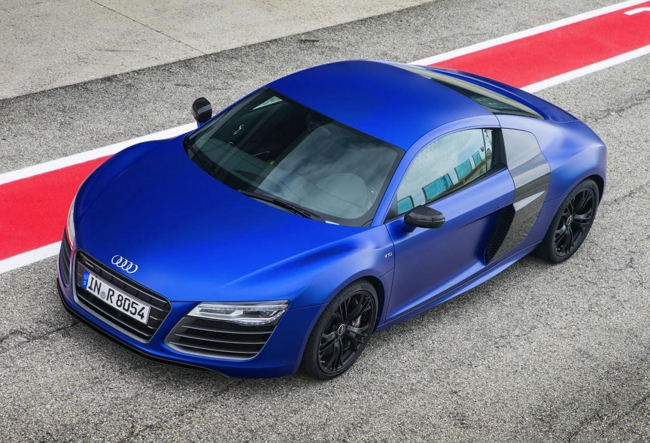 Audi R8 Spyder Matte Blue