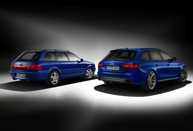 Audi RS 4 Avant Nogaro edition with RS 2