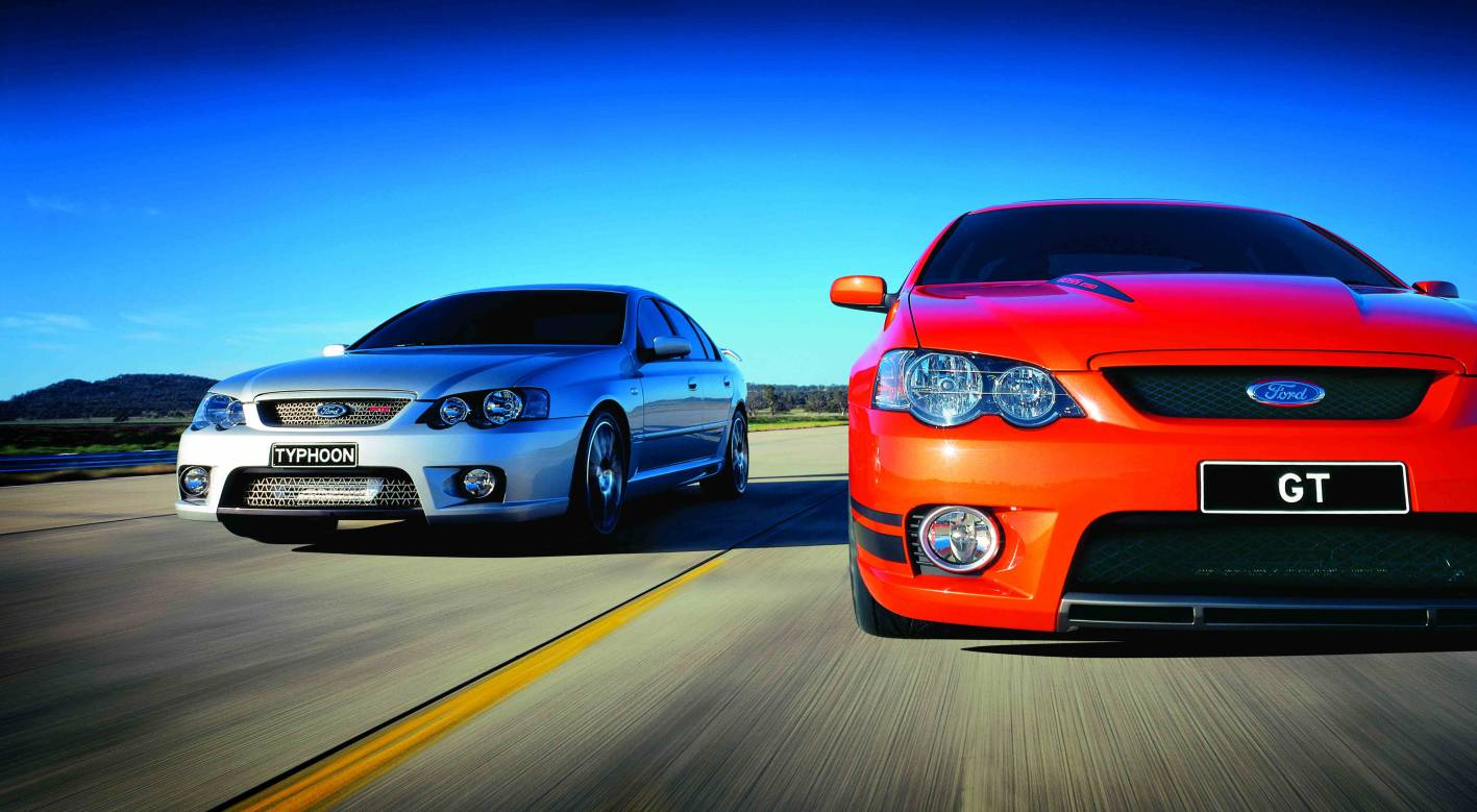 BA FPV F6 and MkII GT