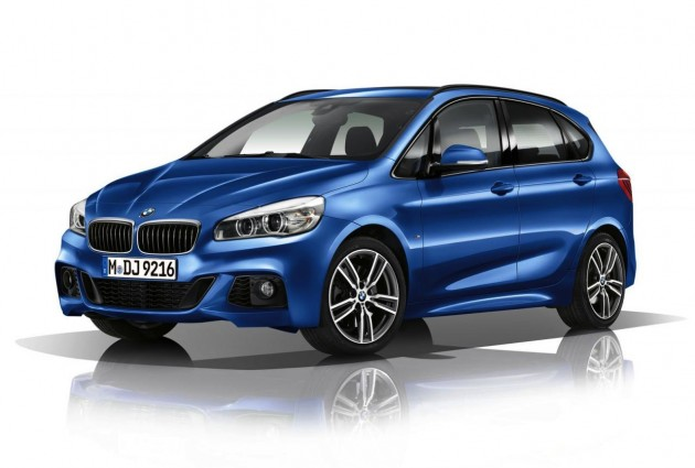 BMW 2 Series Active Tourer M Sport-blue
