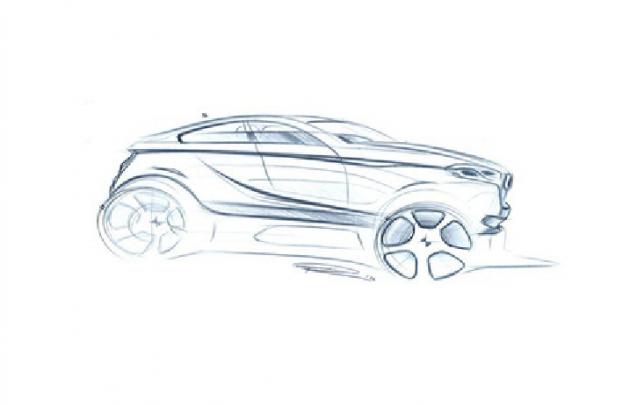 BMW X2 sketch