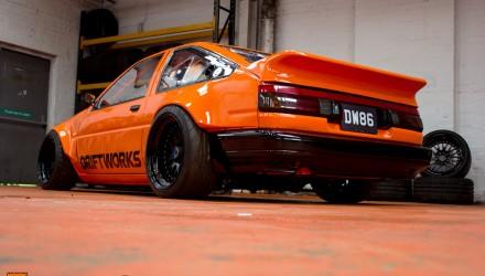 Driftworks Toyota AE86 Sprinter LS3 V8-rear