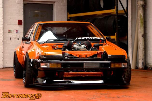 Driftworks Toyota AE86 Sprinter LS3 V8-stance