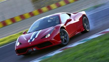 Ferrari 458 Speciale-drifting