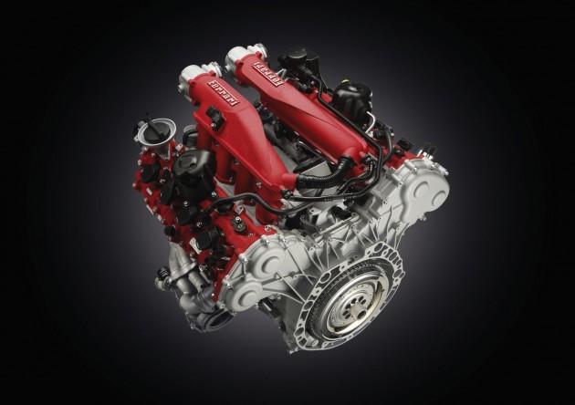 Ferrari California T twin-turbo V8