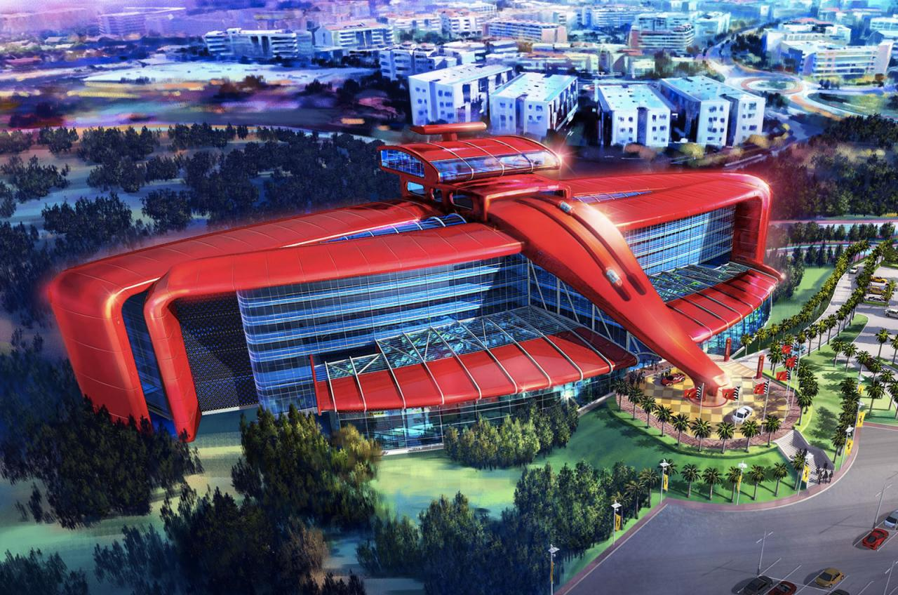 Ferrari land theme park coming to portaventura spain performancedrive - Port aventura accommodation ...