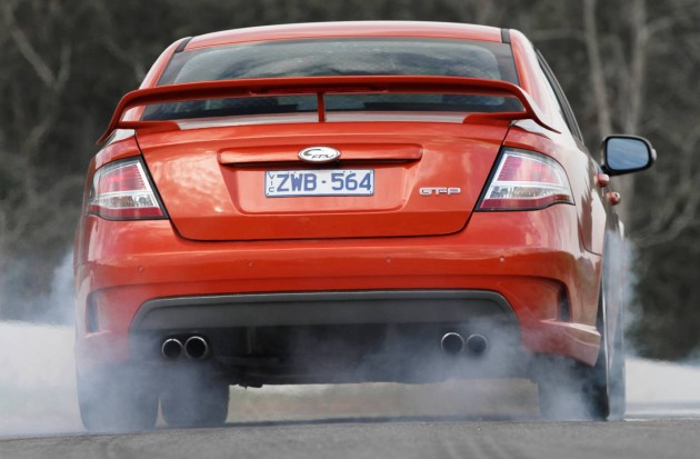 Ford FPV GT-P burnout