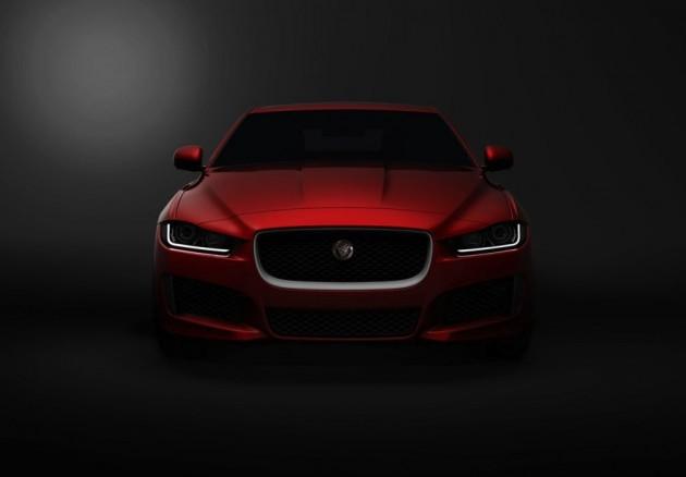 Jaguar XE teaser