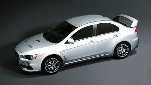 Mitsubishi UK announces Lancer Evolution X FQ-440 MR