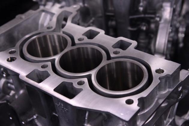 Peugeot three-cylinder engine