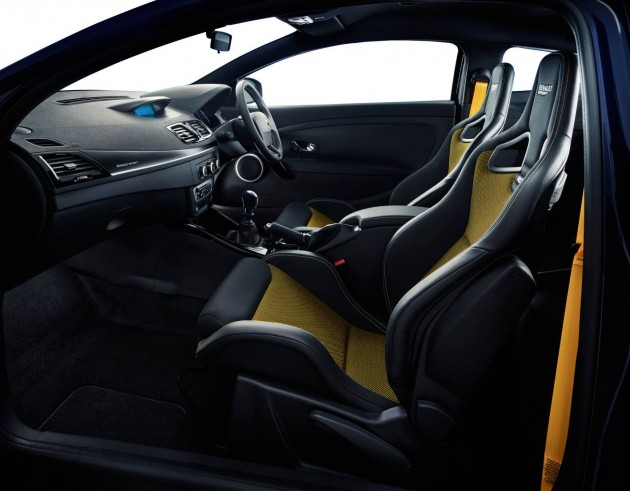 Renault Megane RS265 Sport Limited Editon interior