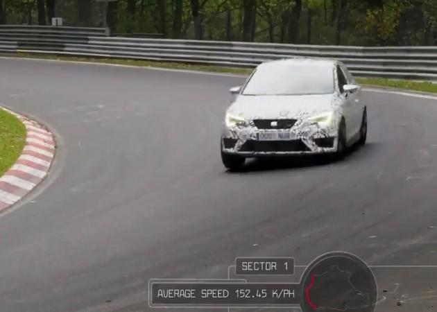 SEAT Leon Cupra 280-Nurburgring record