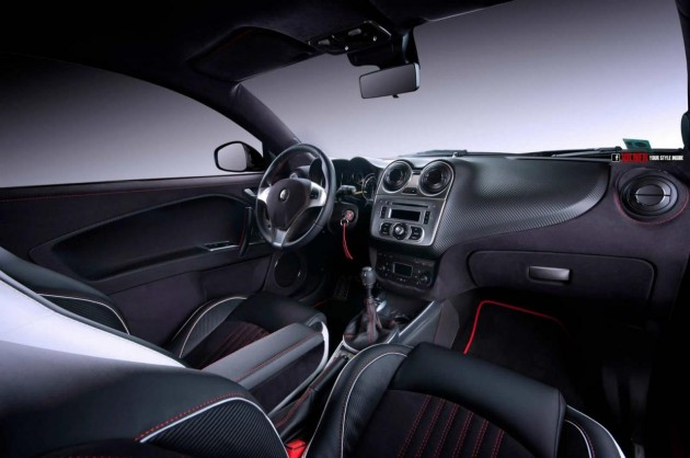 Vilner Alfa Romeo MiTo-carbon trim