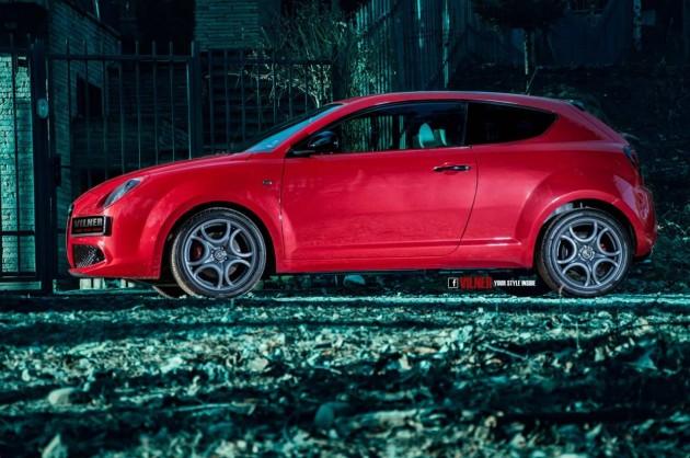 Vilner Alfa Romeo MiTo-red