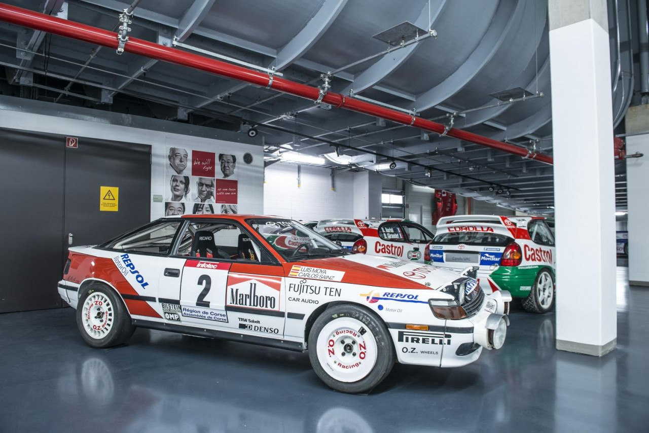 Awesome 1980s Amp 90s Toyota Rally Car Collection Performancedrive