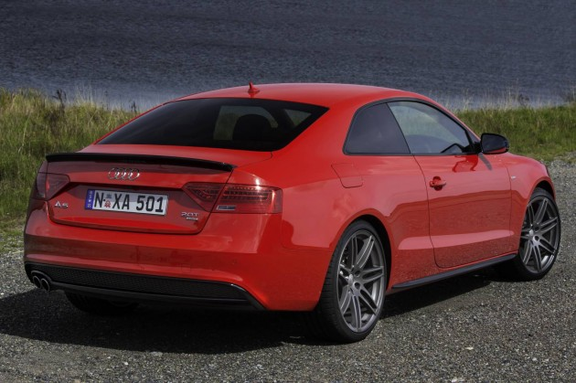 2014 Audi A5 S line Competition-red