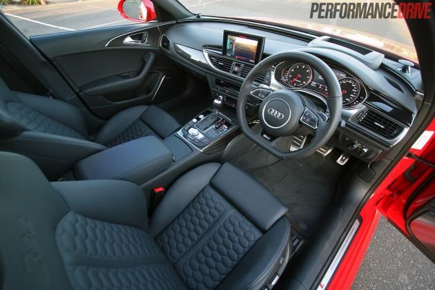 2014 Audi RS 6 Avant-interior