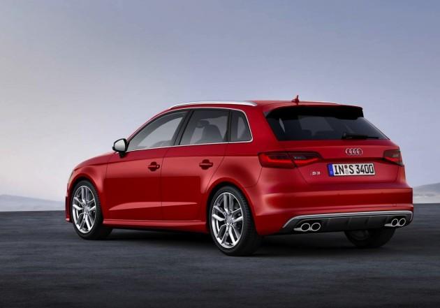 2014 Audi S3 Sportback-rear