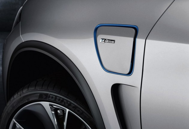 2014 BMW Concept X5 eDrive-badge