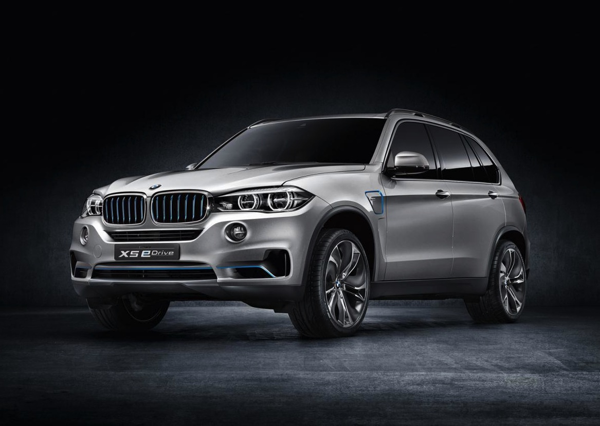 new bmw concept x5 edrive revealed performancedrive. Black Bedroom Furniture Sets. Home Design Ideas