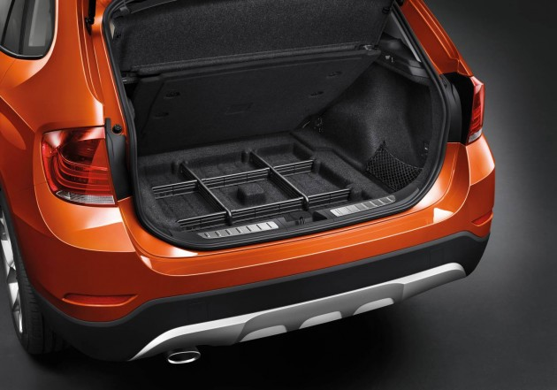 2014 BMW X1 facelift-cargo area